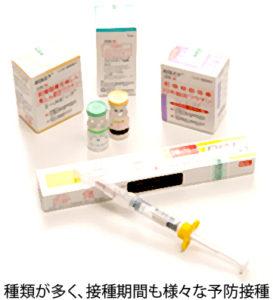 多数の予防接種